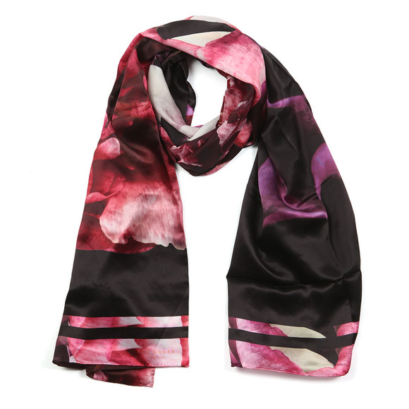 Ted Baker Womens Black Kyndall Splendour Long Scarf main image
