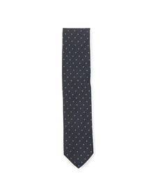 Eton Mens Blue Polka Dot Tie