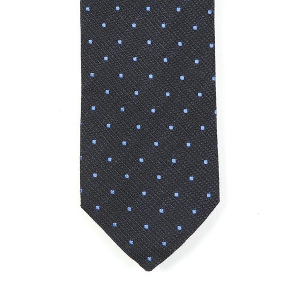 Eton Mens Blue Polka Dot Tie
