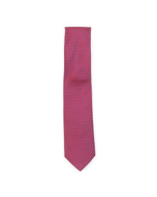 Eton Mens Red Pattern Tie