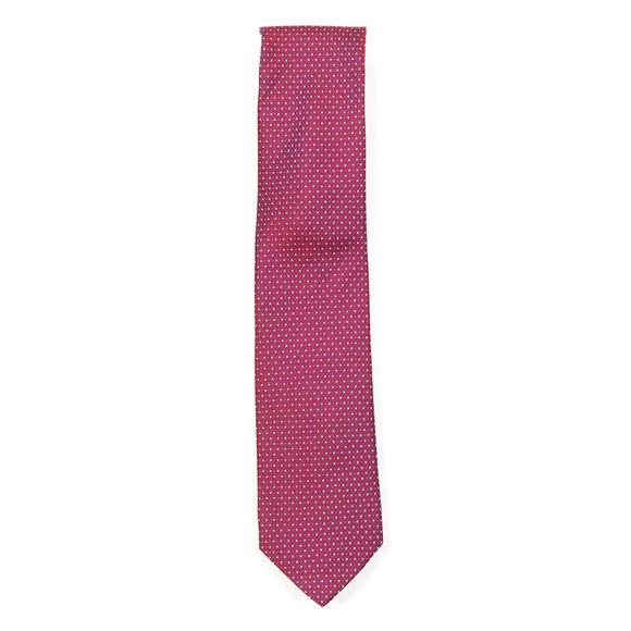 Eton Mens Red Pattern Tie
