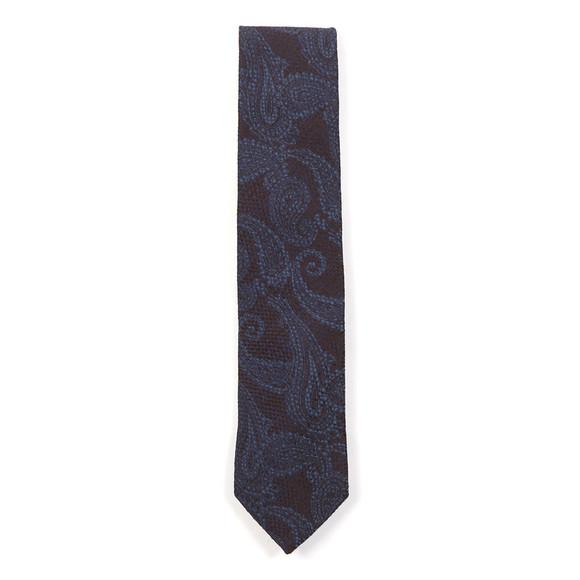 Eton Mens Blue Paisley Tie main image
