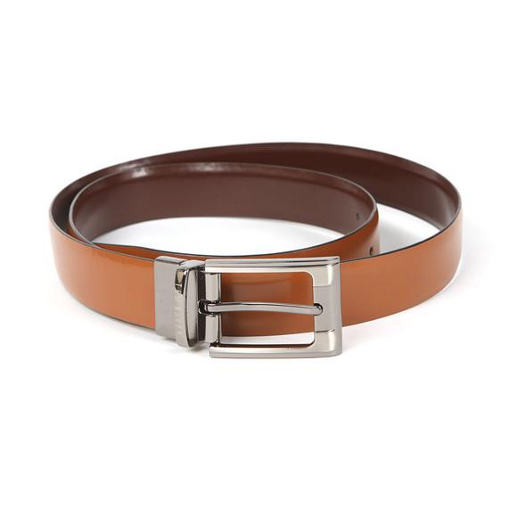 Ted Baker Mens Brown Smart Leather Reversible Belt