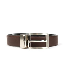 Ted Baker Mens Brown Reva Reversible Textured Belt