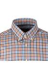 Hackett Mens Multicoloured L/S Langdale Check Shirt