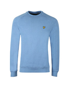 Lyle and Scott Mens Blue Washed Sweatshirt