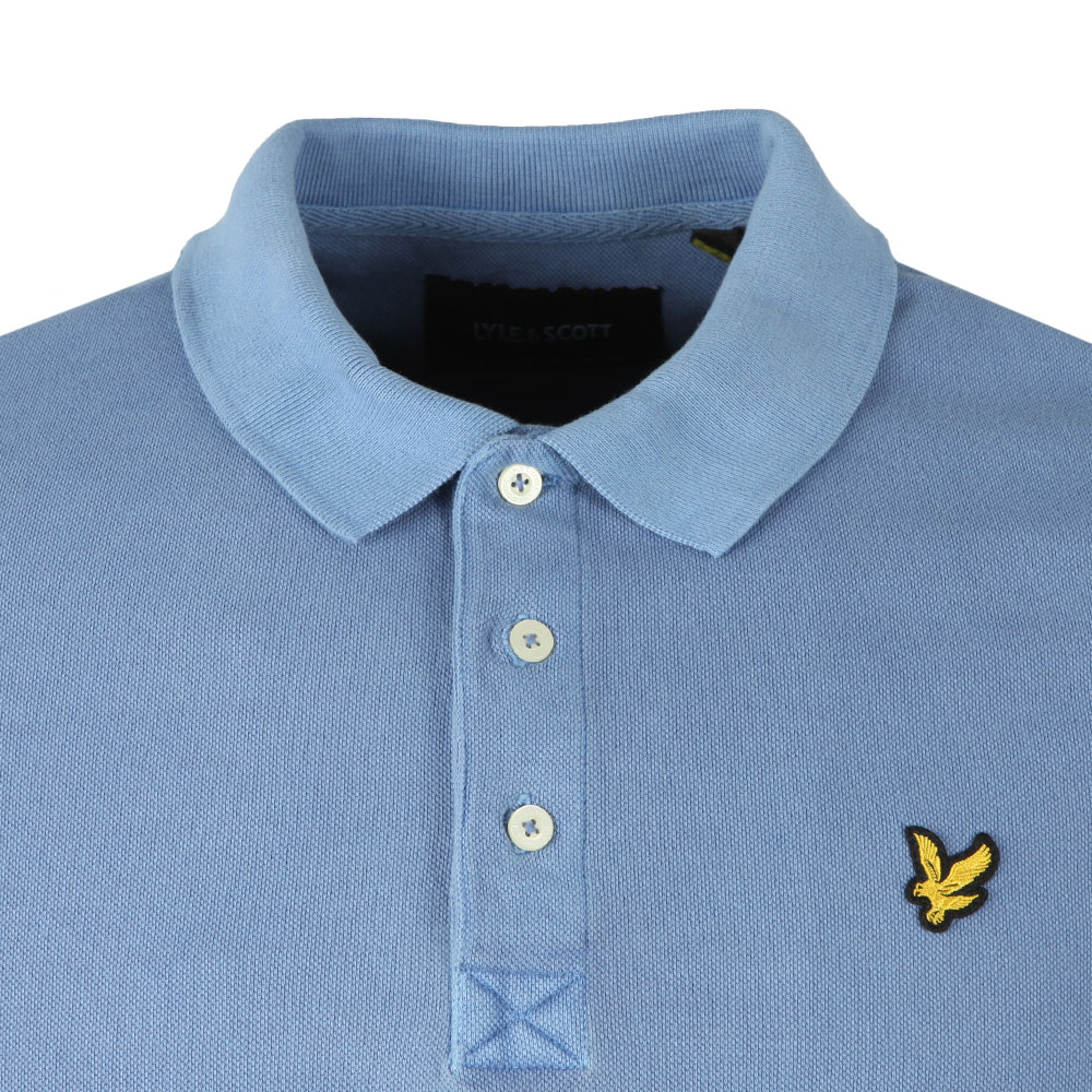 S/S Washed Polo main image