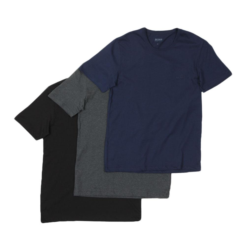 a2a7275bc BOSS Bodywear 3 Pack Crew Neck T Shirt | Oxygen Clothing