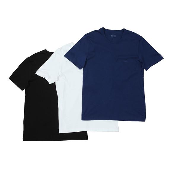 BOSS Bodywear Mens Multicoloured 3 Pack Crew Neck T Shirt