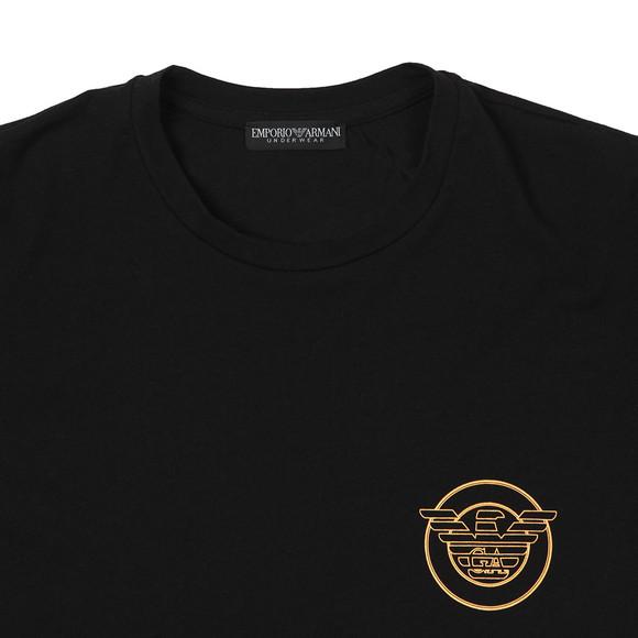 Emporio Armani Mens Black Circle Logo Underwear T Shirt main image
