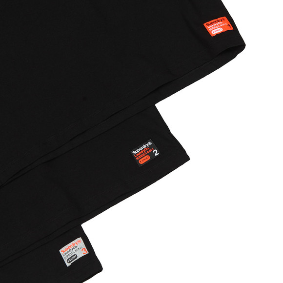 Superdry Mens Black Slim Tee Triple Pack main image