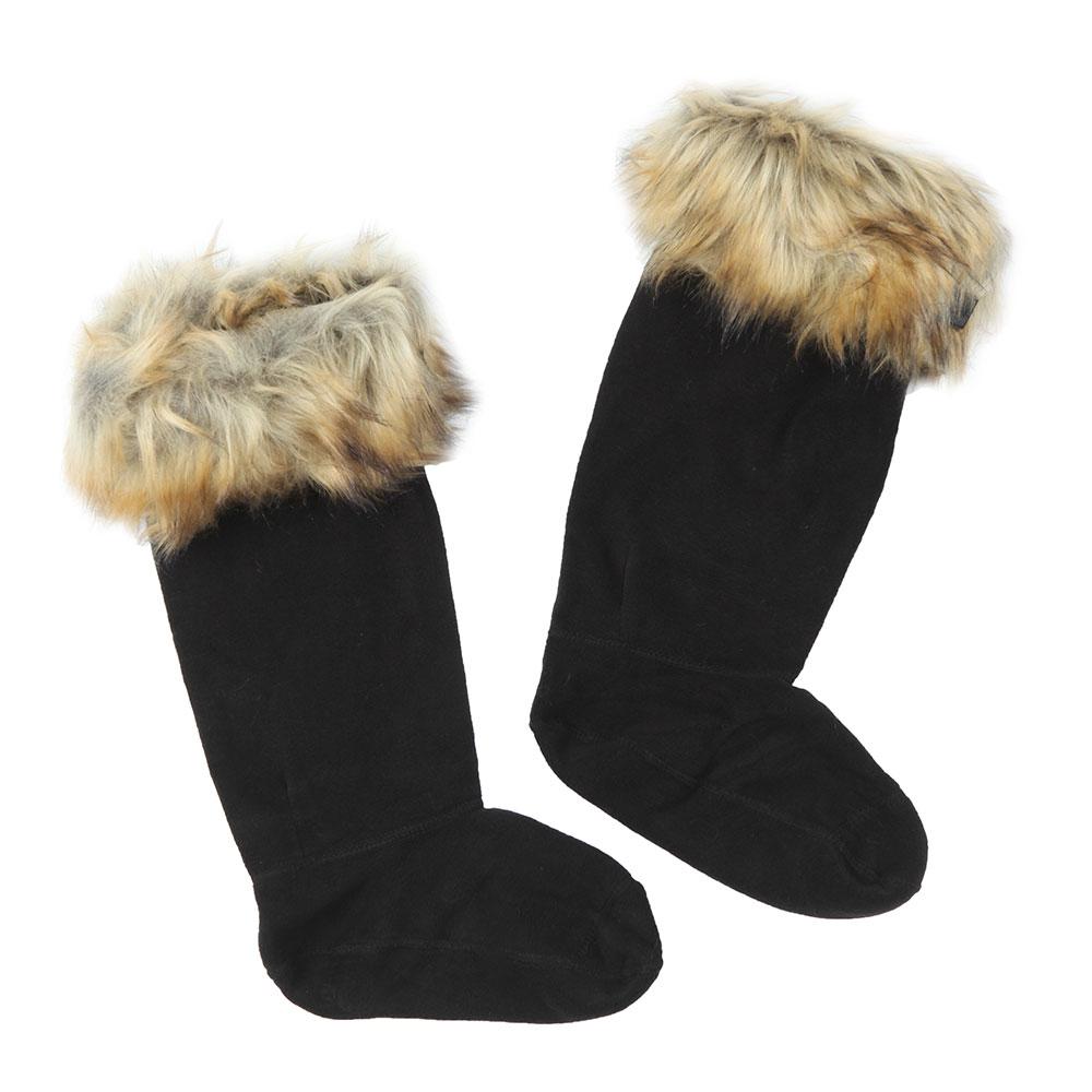 Original Tall Faux Fur Boot Sock main image