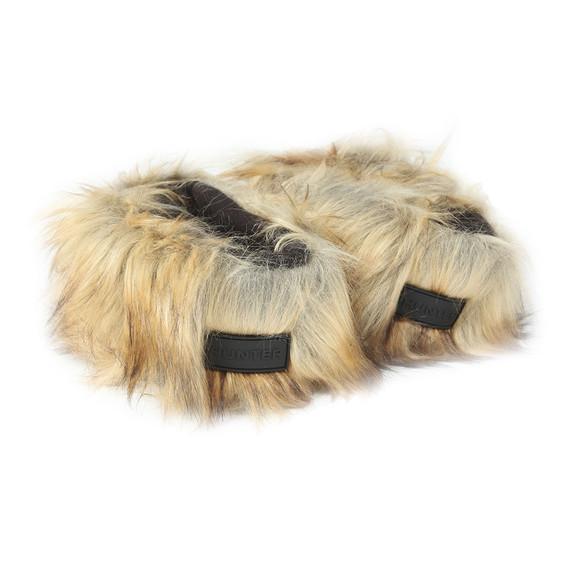 Hunter Womens Beige Original Tall Faux Fur Boot Sock main image
