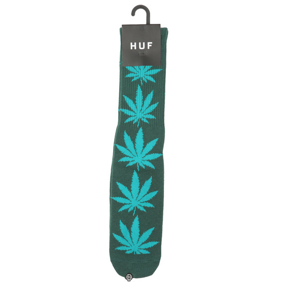 HUF Mens Green Plantlife Socks main image