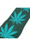 HUF Mens Green Plantlife Socks