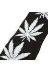 HUF Mens Black Plantlife Socks