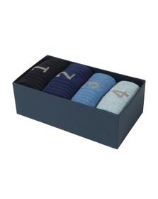 Hackett Mens Blue Numbered Multi Box