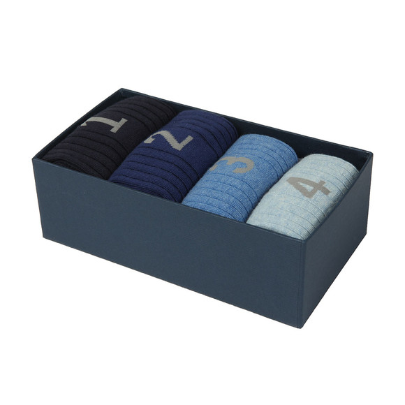 Hackett Mens Blue Numbered Multi Box main image