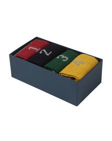 Hackett Mens Multicoloured Numbered Multi Box