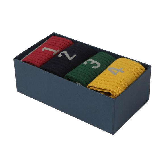 Hackett Mens Multicoloured Numbered Multi Box main image