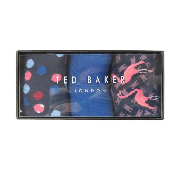 Ted Baker Mens Multicoloured TINSE 3 pack Sock Set main image