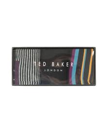 Ted Baker Mens Multicoloured HOLY 3 Pack Sock Set