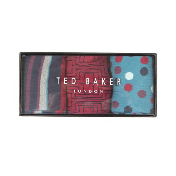 Ted Baker Mens Multicoloured WINTR 3 Pack Box Set main image
