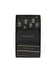 BOSS Bodywear Mens Blue 3 Pack Sock Box Set