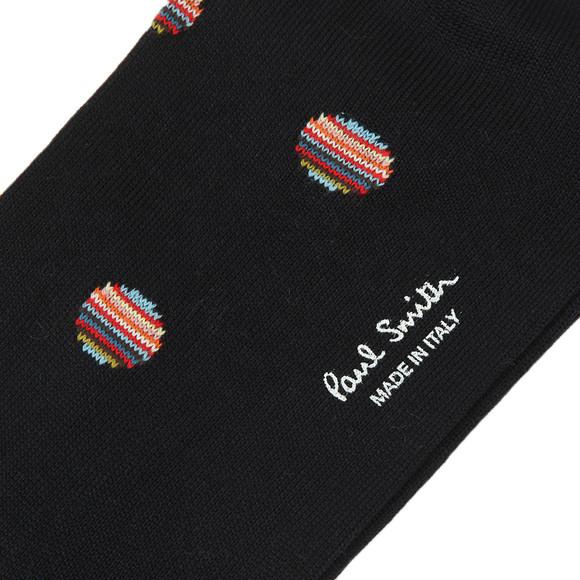 Paul Smith Mens Blue Multi Polka Dot Sock
