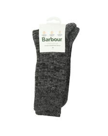 Barbour Lifestyle Mens Grey Kentmere Sock