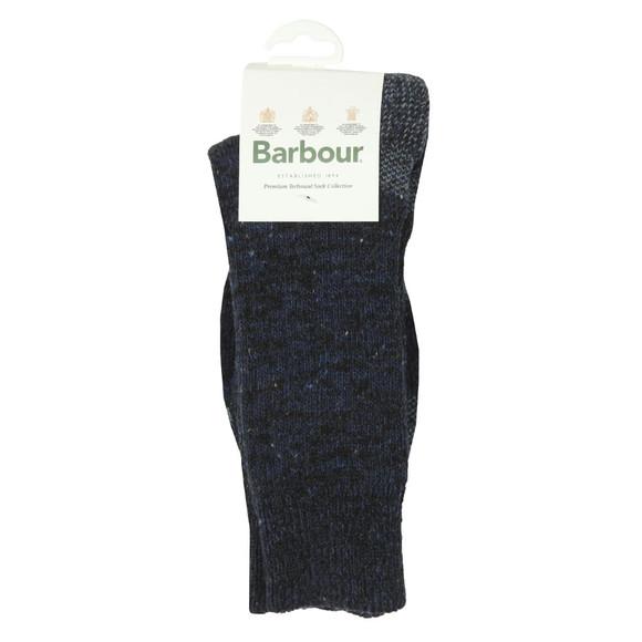 Barbour Lifestyle Mens Blue Kentmere Sock main image