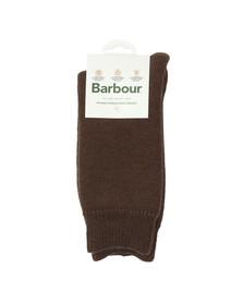 Barbour Lifestyle Mens Brown Wellington Calf Sock