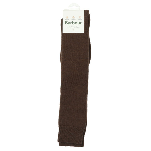 Barbour Lifestyle Mens Brown Wellington Knee Sock main image