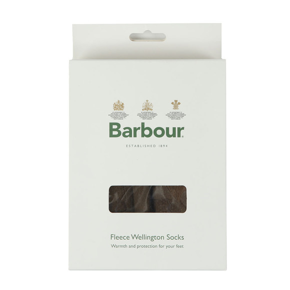 Barbour Lifestyle Mens Green Fleece Sock main image