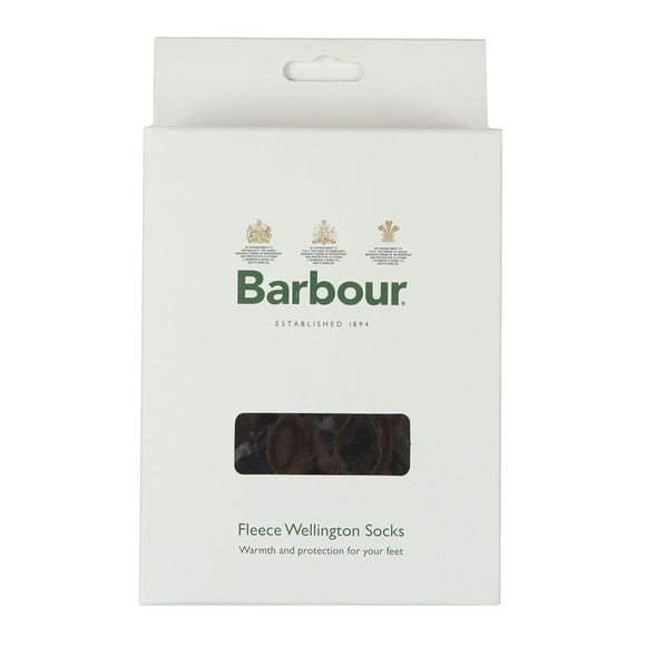 Barbour Lifestyle Mens Black Fleece Sock main image