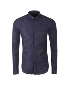 Scotch & Soda Mens Blue 145370 Classic Shirt
