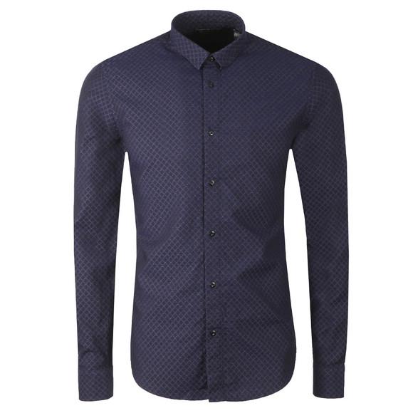Scotch & Soda Mens Blue 145370 Classic Shirt main image