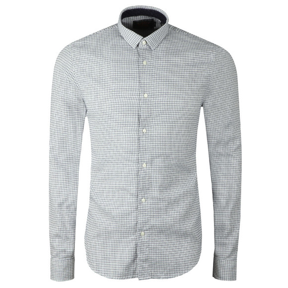 Scotch & Soda Mens White 145370 Classic Shirt main image