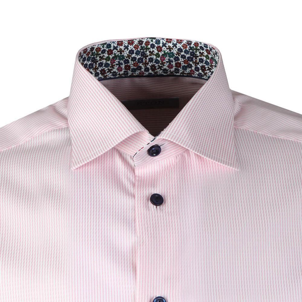 Floral Detail Striped Shirt main image