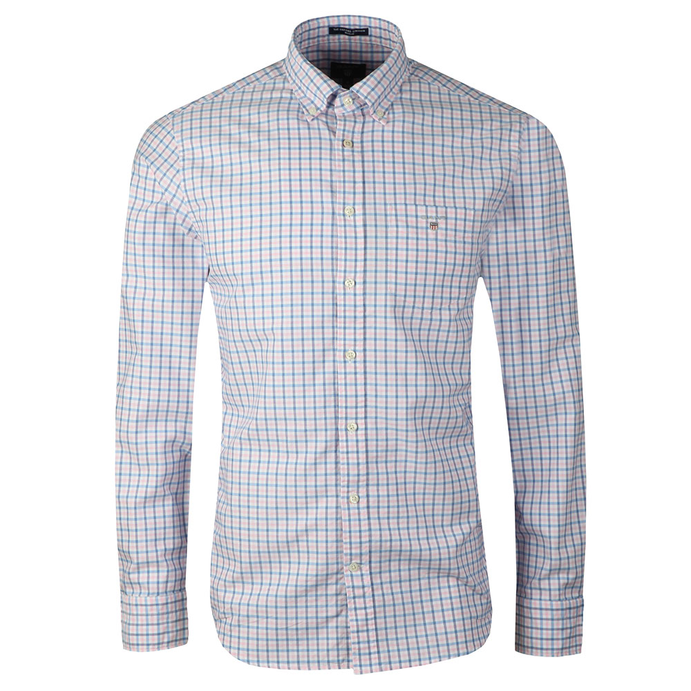 Oxford 3 Col Gingham LS Shirt main image