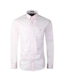 Gant Mens Pink Oxford Banker LS Shirt