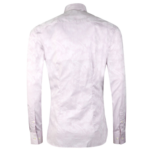 Ted Baker Mens Pink Muggin L/S Palm Leaf Shirt main image