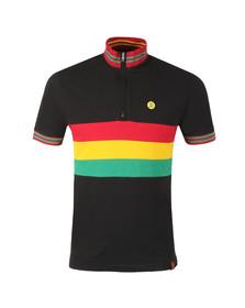 Trojan Mens Black Cycling Shirt