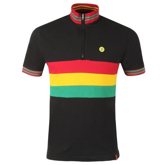 Trojan Mens Black Cycling Shirt main image