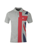 S/S Flag Front Polo