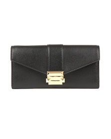 Michael Kors Womens Black Whitney Large Chain  Purse