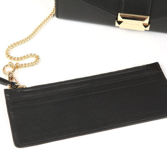 Michael Kors Womens Black Whitney Large Chain  Purse main image