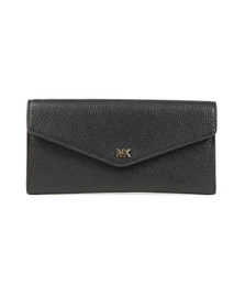 Michael Kors Womens Black Large Chain  Envelope Purse