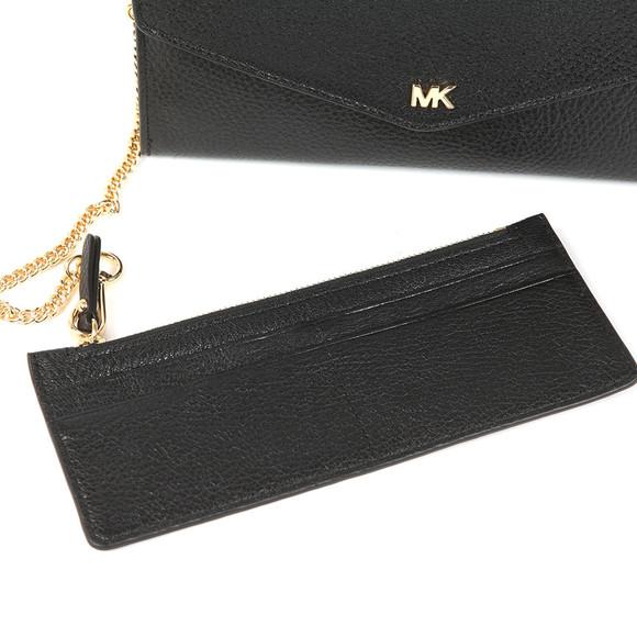Michael Kors Womens Black Large Chain  Envelope Purse main image