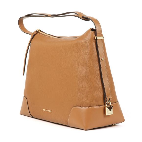 Michael Kors Womens Brown Crosby Large Shoulder Bag main image